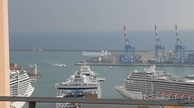 navi crociere genova