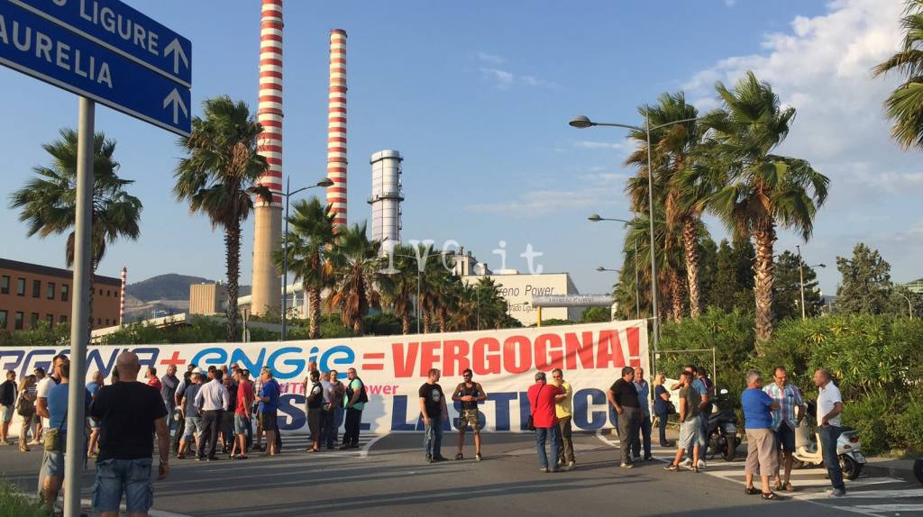 protesta tirreno power 8 settembre