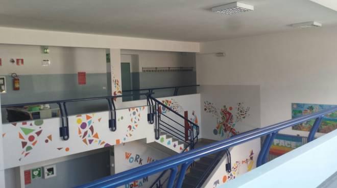 restyling scuole Mameli Paccini Albenga