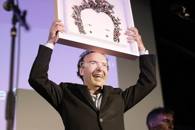 Roberto Benigni al Festival della Comunicazione
