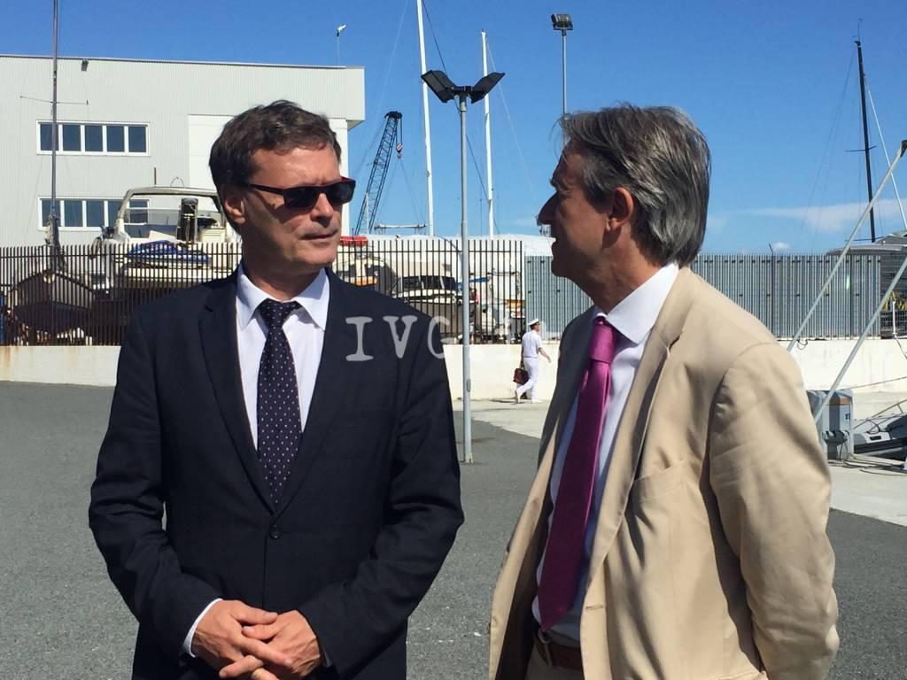 Savona, il coordinatore del corridoio Reno-Alpi visita il porto