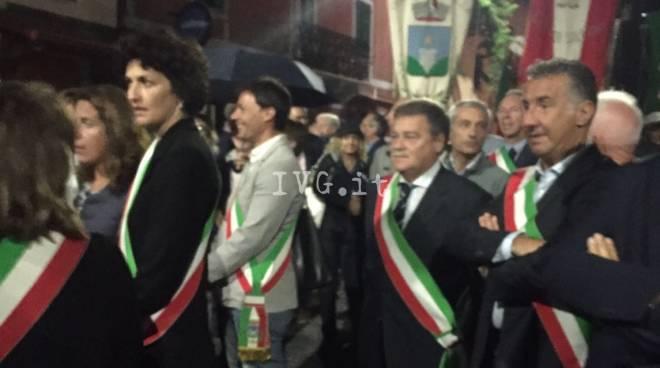 Vittorio Varalli Commemorazione Pertini Stella