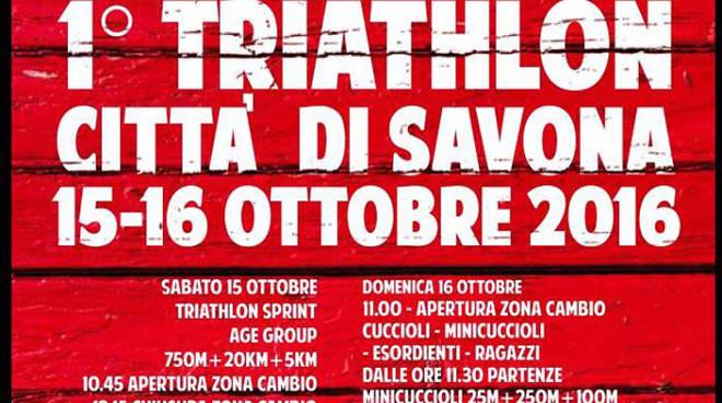 1° Triathlon Città di Savona