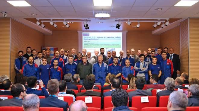 Ansaldo Energia, lavoratori premiati