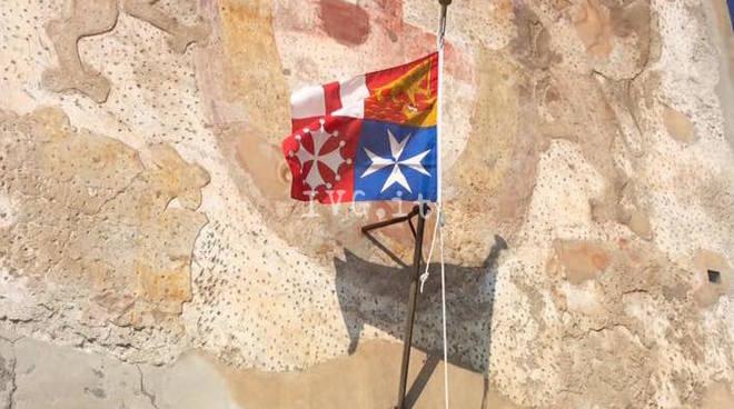 bandiera bompresso Anmi Savona