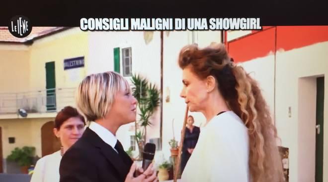 Le Iene, Eleonora Brigliadori aggredisce Nadia Toffa VIDEO