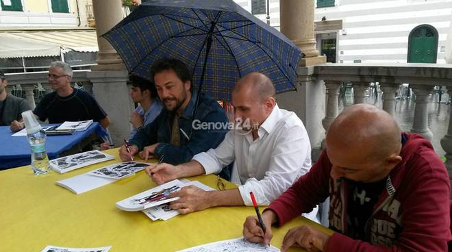 Cartoonists a Rapallo