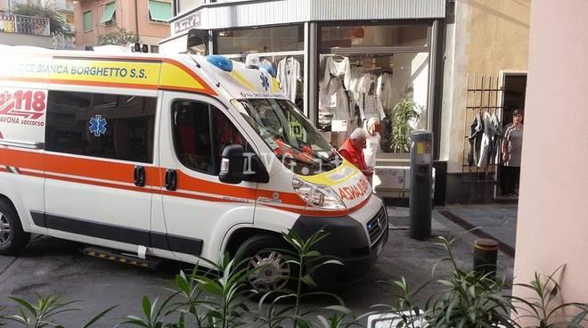 Loano Dissuasore Ambulanza