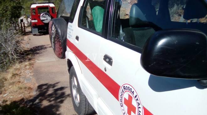 Arrampicatrice Toirano Soccorso Croce Rossa Vigili Fuoco