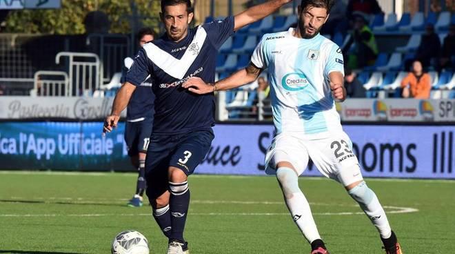 Brescia, contro l'Entella arriva solo un pareggio in zona Cesarini