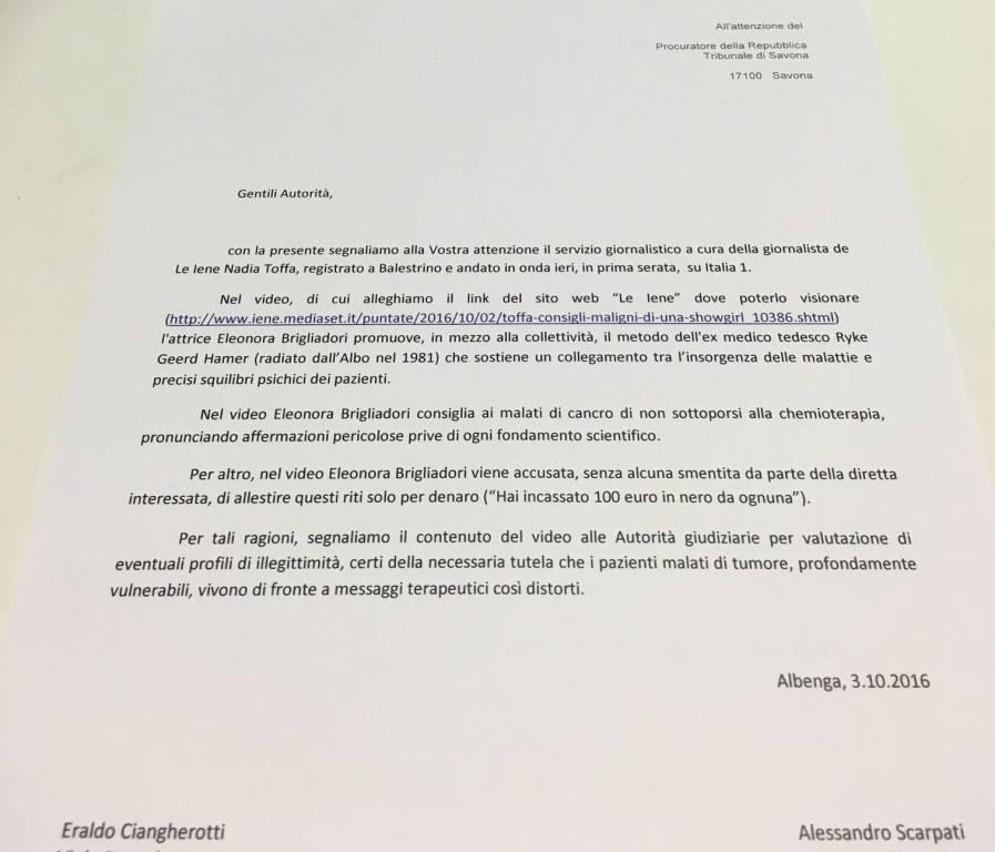 Le Iene, Eleonora Brigliadori aggredisce Nadia Toffa
