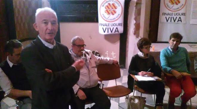 """Finale Ligure Viva"" dà il ben servito a Frascherelli"