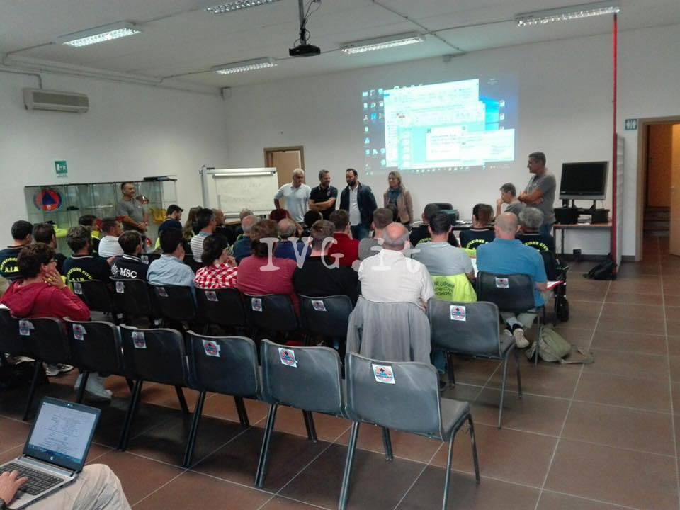 Il gruppo Aib di Toirano, Boissano e Loano ospita il corso di formazione dei volontari della provincia