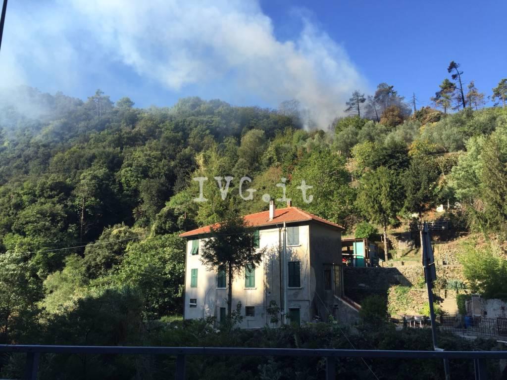 Incendio santuario