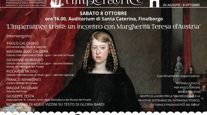 L'Imperatrice triste: un incontro con Margherita Teresa d'Austria