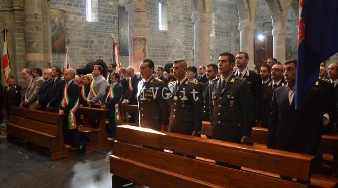 La Guardia di Finanza festeggia il patrono San Matteo ad Albenga