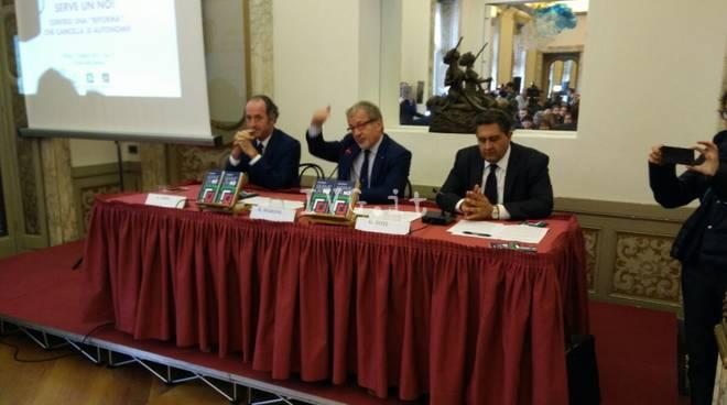 La trilaterale di Milano tra Liguria, Lombardia e Veneto