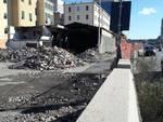 Lavori In via Lungo Mare Canepa (demolizioni )rampa soprelevata e lavori Di Negro