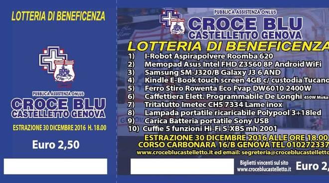 Lotteria Croce Blu Castelletto