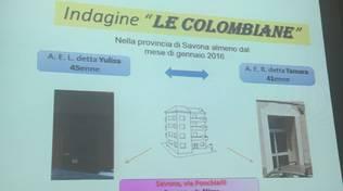 """Operazione \""""Le colombiane\"""": due case squillo scoperte a Savona"""