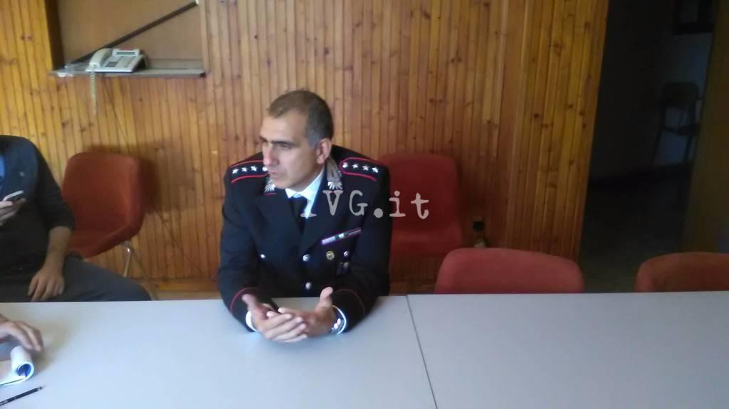 Daniele Quattrocchi Comandante Carabinieri Cairo Montenotte