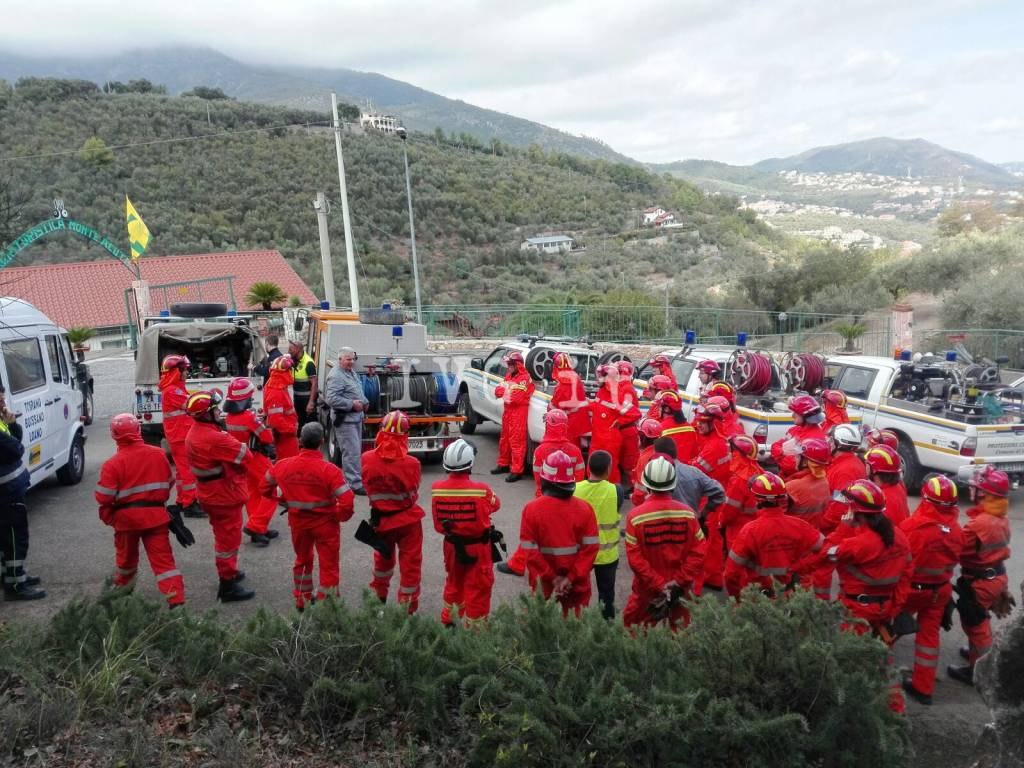 Protezione Civile, il corso di formazione di Boissano