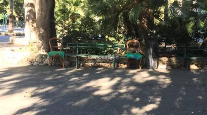 sedie villa scassi