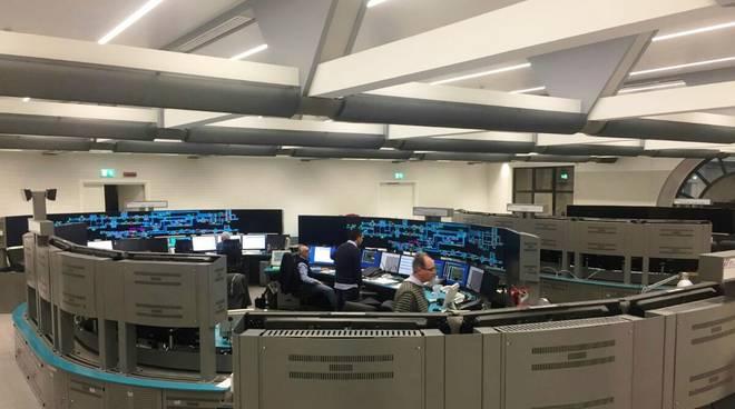 Sala Operativa Traffico Ferroviario Genova Teglia