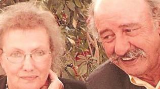 Graziano Azzoni con la moglie Antonietta