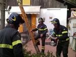 vigili del fuoco messa in sicurezza