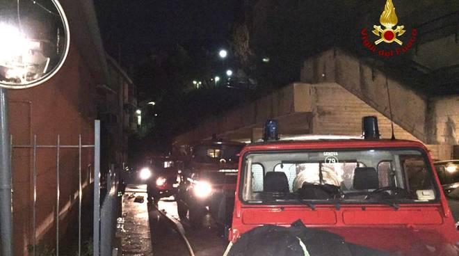 Rogo in via Tanini a Genova, evacuato un palazzo