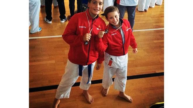 Gran Prix Csen di karate, tre medaglie di bronzo per Wakam