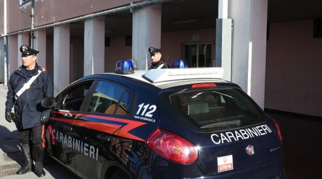 carabinieri furto luce