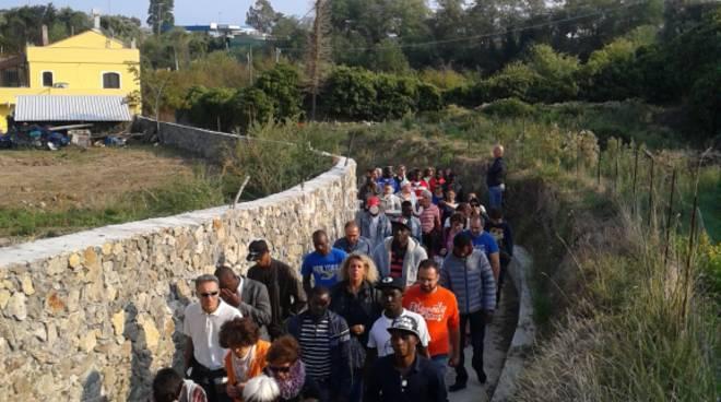 """Domenica a Savona ritorna il \""""Trekking dell\'Accoglienza\"""""""