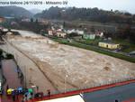 Alluvione Millesimo SV ore 16:00 24/11/16 FOTO  - Superati i livelli del 1994