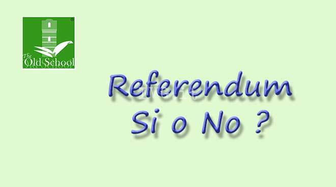 Referendum una scelta consapevole