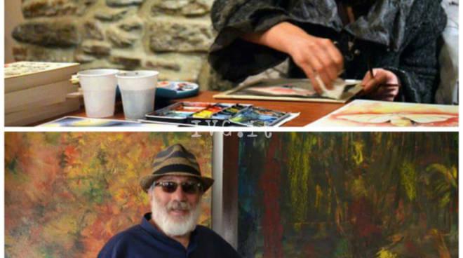"""Loano, lo storico """"Studio d'Arte"""" di Wanda Barbara Magnani inaugura un nuovo spazio espositivo con ospite lo scrittore Elio Brossa"""