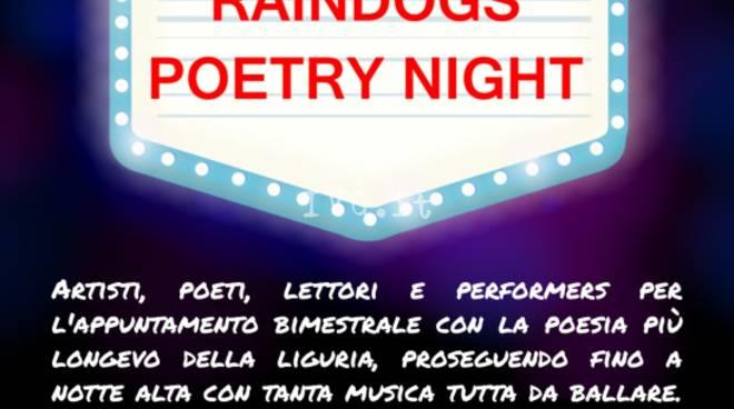Poesia e musica con The Saturday Raindogs Poetry Night