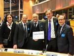 Comunità Europea dello Sport 2017, i vessilli a Chiavari, Leivi e Cogorno