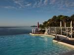 Excelsior Palace Hotel di Rapallo, la piscina