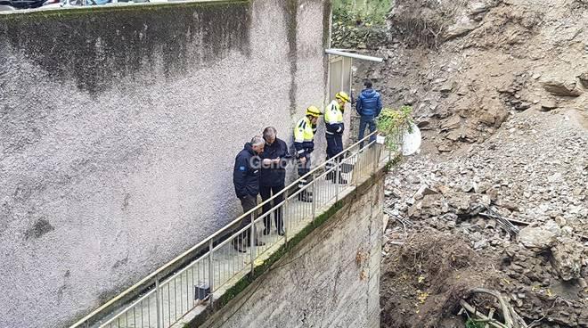 Genova: a Quezzi frana minaccia case, 200 sfollati