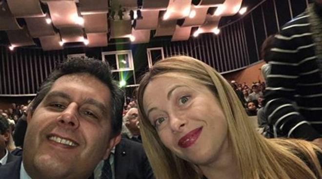 Giorgia Meloni e Giovanni Toti