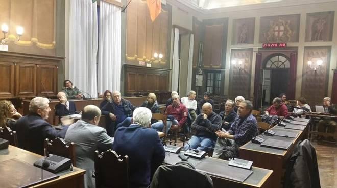 Gli organizzatori di Amatriciamoci a Rapallo