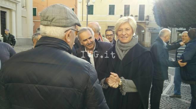 il ministro Pinotti a Pietra Ligure
