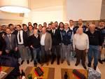 inaugurazione stagione  Prorecco presente il patron Gabriele Volpi , Fiorani , e Gozzi