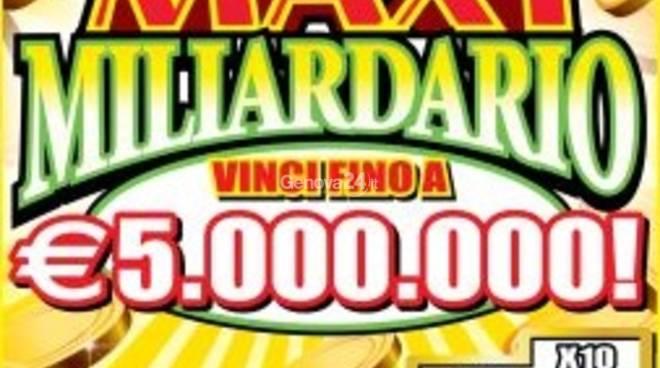 maxi miliardario gratta e vinci