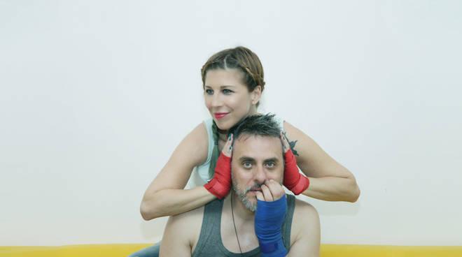 """Michela Andreozzi e Massimiliano Vado in """"Ring"""""""