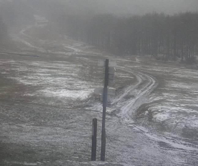 Prima neve al Prato della Cipolla