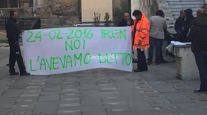 Protesta di Iren