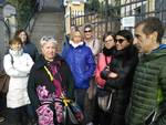 protesta genitori palestra Pietra
